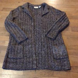 Medium Weight Sweater Cardigan
